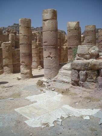 Ruins at Petra, Jordan