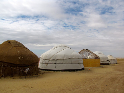 Uzbek yurts