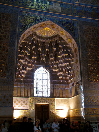 in the Amir Timur Mausoleum