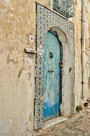 Old house at Sidi Bou Said, Tunis