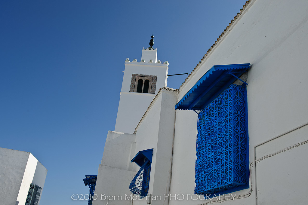 Mosque at Sidi Bou Said, Tunis