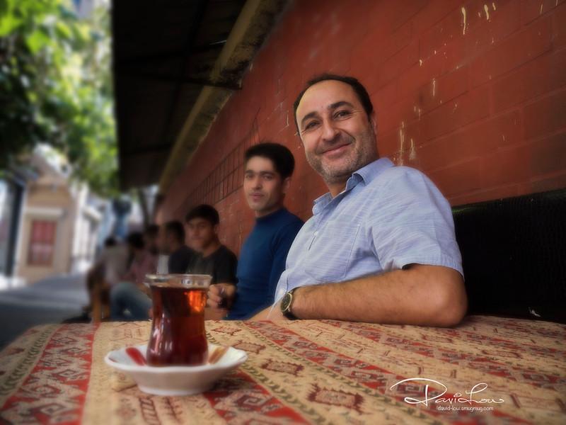 Typical Turkish tea