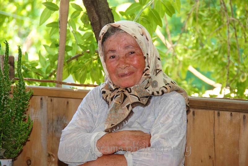 Great Grandma in Bezirgan