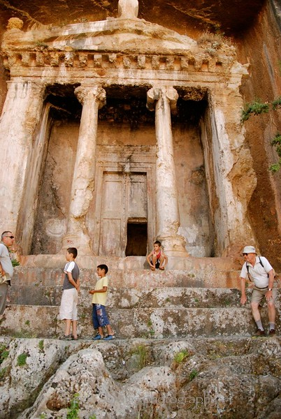 Fethiye ,Lycian Tombs