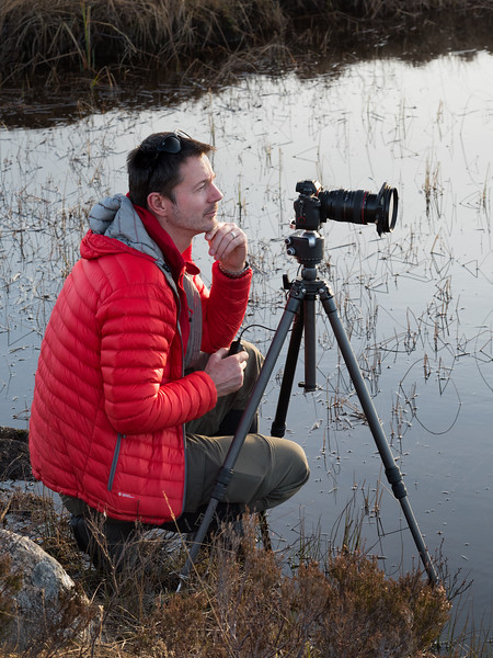 Pensive photographer extraordinaire
