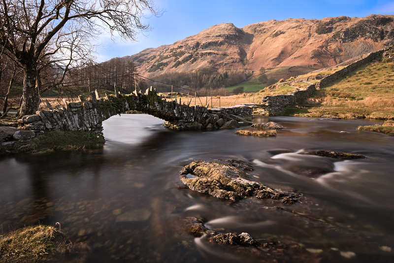 Slaters Bridge<br /> Langdale<br /> The Lake District