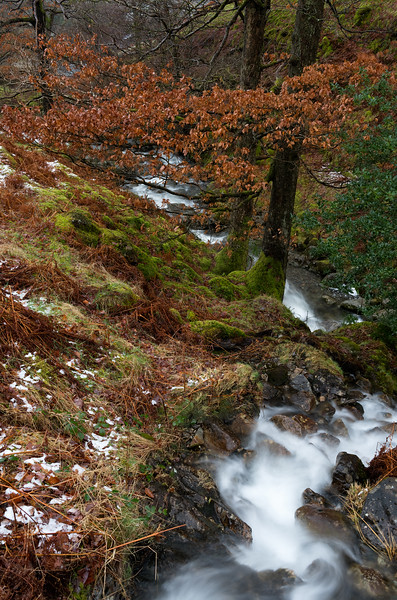 Fall and Winter meet in the Lake District
