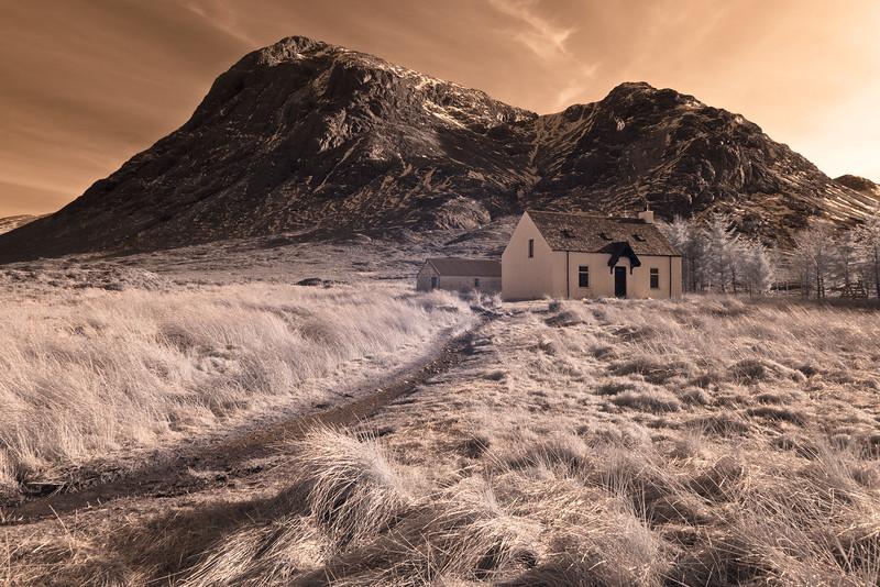 Glencoe in infrared