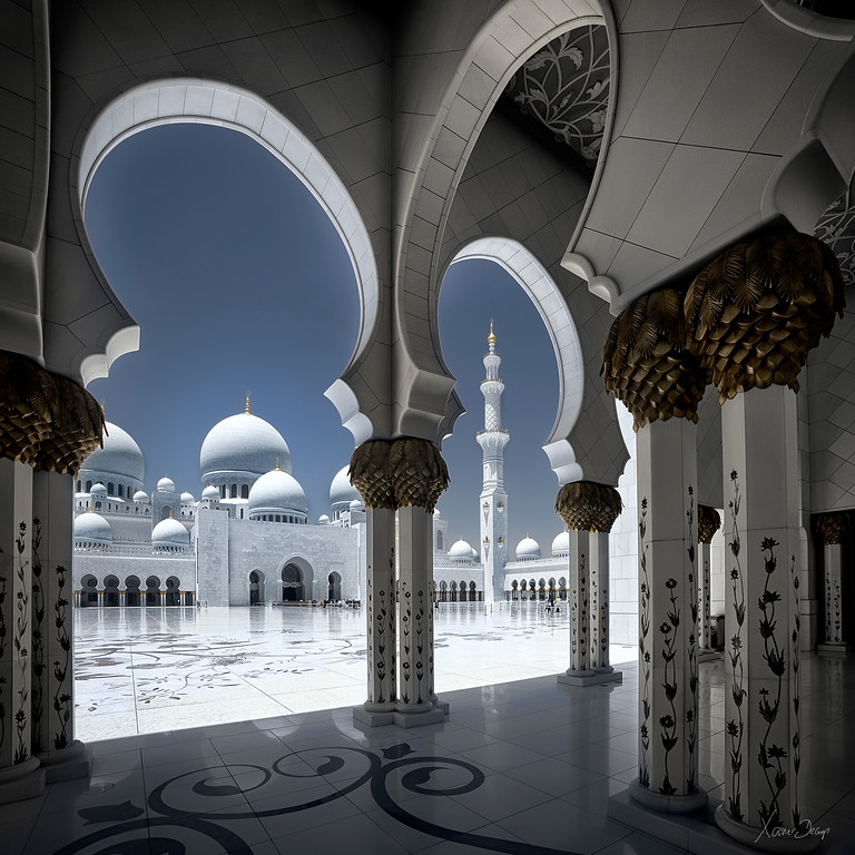 Abu Dhabi Grand mosque, Emirates