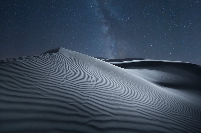 A night in the desert, Dubai