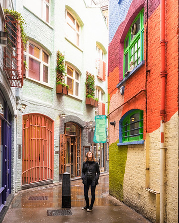 Neal's Yard, Seven Dials, London