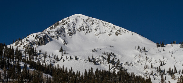 Mount Millicent (Elevation: 10,452), Wasatch Range, Utah.