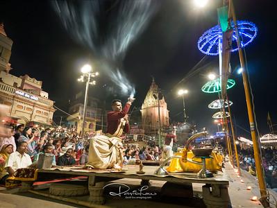 Aarti at Dashashwamegh ghat