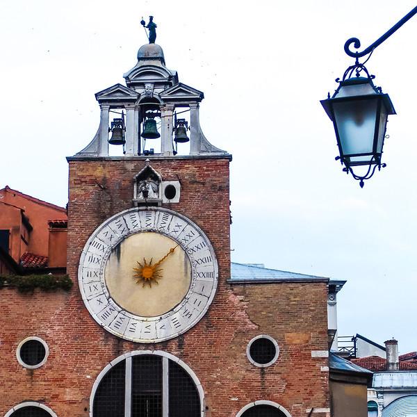 Torre dell'Orologio 24-Hour Clock In Roman Numerals