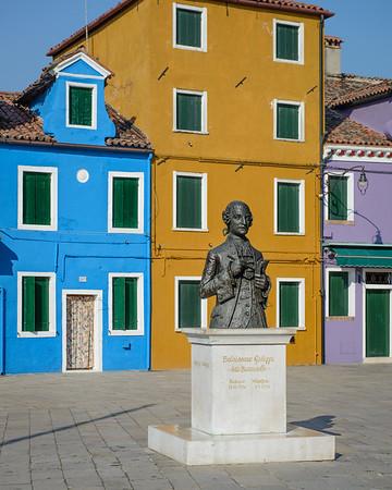 Piazza Baldassare Galuppi-Burano