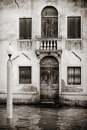 Grand Canal door, Venice