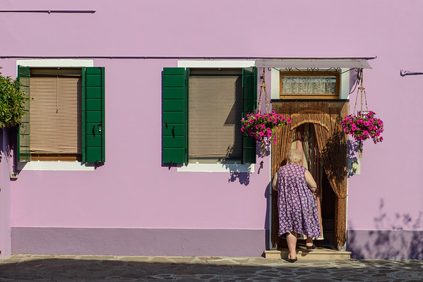 Coming home, Burano