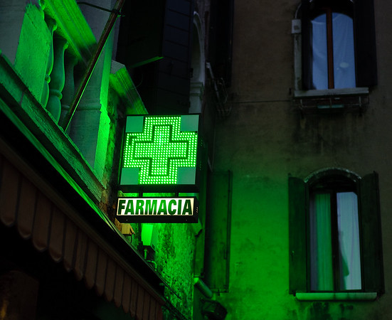 Pharmacy, Venice