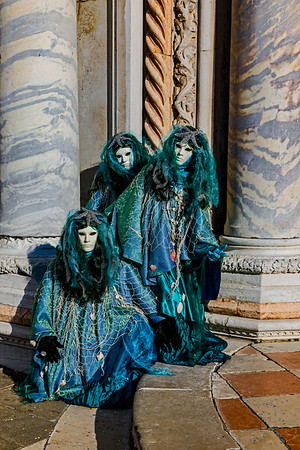 ITALY; Venice; Carinal; Mask people of Carnival; Carnival