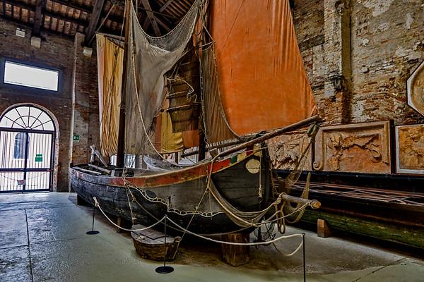 ITALY; Burano; Carnival; Navel History Museum