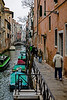 ITALY; Venice; Carnival; Canals of Venice