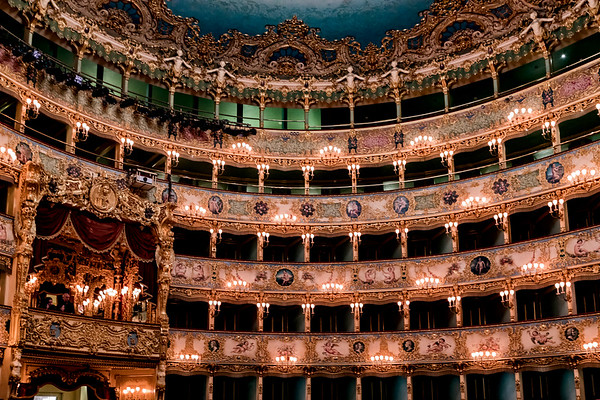 ITALY; Venice; Carnival; Fenice Opera House