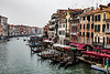 ITALY; Venice; Carnival; The Grand Canal; From Rialto Bridge
