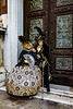 ITALY; Venice; Carnival; De Arsenal; Mask people of Carnival