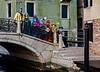 ITALY; Venice; Carnival; Mask people of Carnival; Basilica of Santa Maria Della Salute