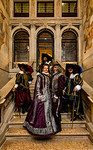 ITALY; Venice; Carnival; Hotel Ca Sagredo; Mask people of Carnival