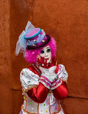 ITALY; Venice; Carnival; Burano; Mask people of Carnival