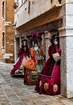 ITALY; Venice; Carnival; Mask people of Carnival