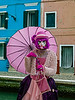 ITALY; Venice; Carnival; Burano; Mask people of Carnival
