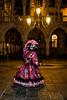 ITALY; Venice; Carnival; San Marco Square; Mask people of Carnival