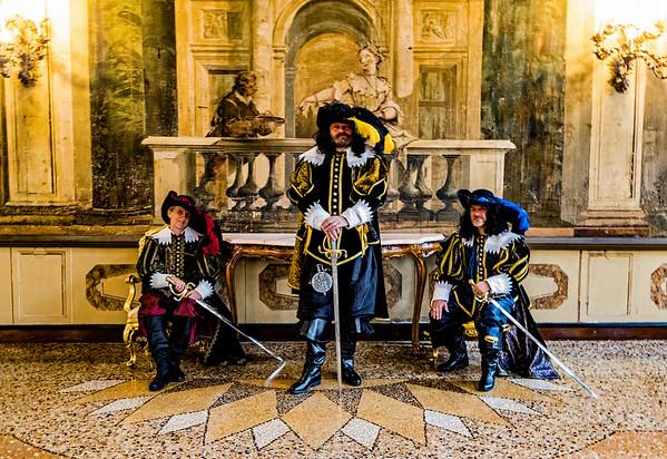 ITALY; Venice; Carnival; Hotel Ca Sagredo; Mask people of Carnival