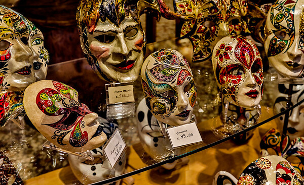 ITALY; Mask Making Shop