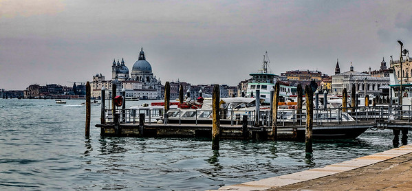 ITALY; Venice; The Grand Canal; Sites alone The Grand Canal