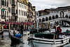 ITALY; Venice; Rialto Bridge; The Grand Canal