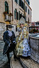 ITALY; Venice; Mask people of Carnival