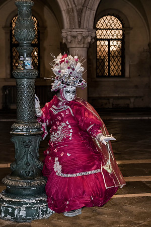 ITALY; Venice; San Marco Square; Mask people of Carnival