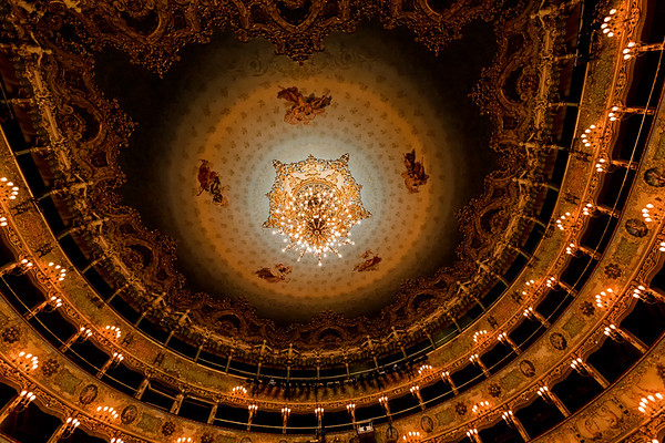 ITALY; Venice; Venice Opera House