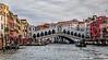 ITALY; Venice; Rialto Bridge; The Grand Canal