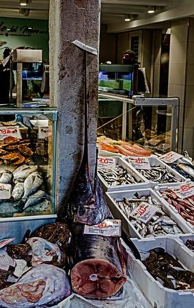 ITALY; Venice; Fish& Vegetable Market