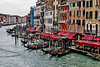 ITALY; Venice; The Grand Canal; Sites alone The Grand Canal; From Rialto Bridge