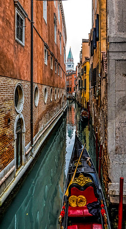ITALY; Venice; Sites from the back alleys of venice