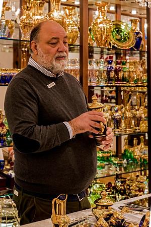 ITALY; Glass Blowing; Murano