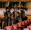 ITALY; Venice; Venice Opera House; Mask people of Carnival