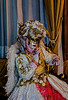 ITALY; Venice; Mask people of Carnival; Hotel Ca Sagredo