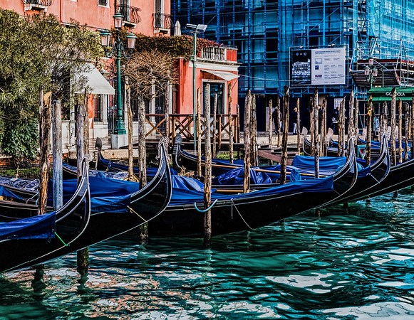 ITALY; Venice; The Grand Canal