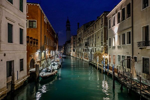 ITALY; Venice; Canals of Venice